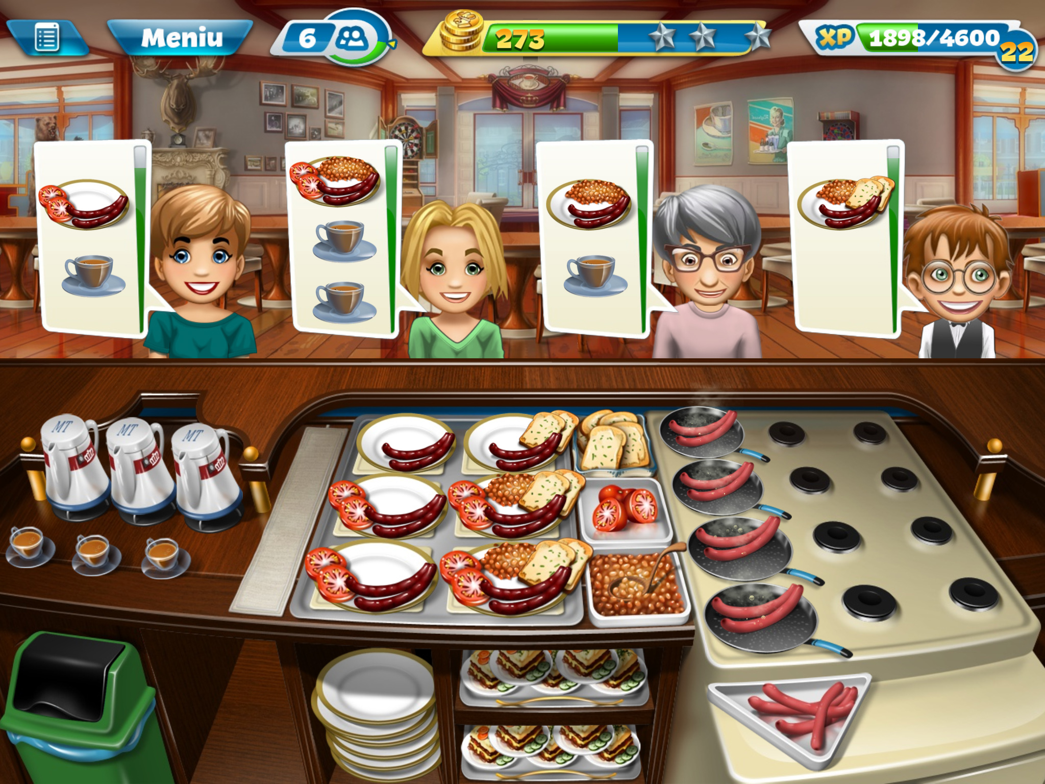 cooking fever mod apk 12.0.0