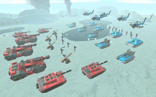 army battle simulator mod apk