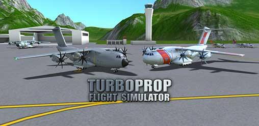 turboprop flight simulator mod apk