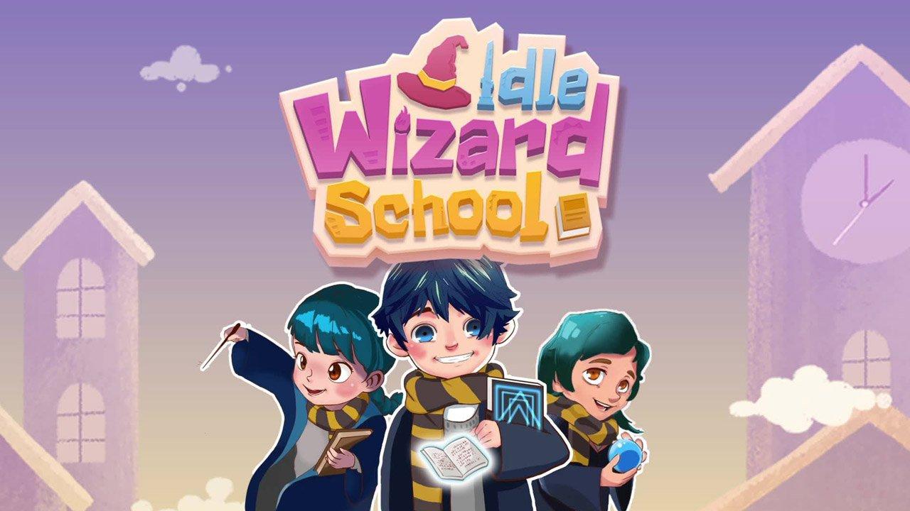 Idle Wizard School Mod Apk